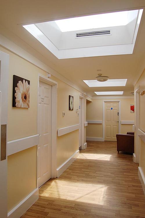Corridor In Care Home